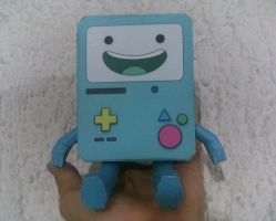 Bmo papercraft by aardonix