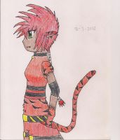 Tiger Girl by marky1212