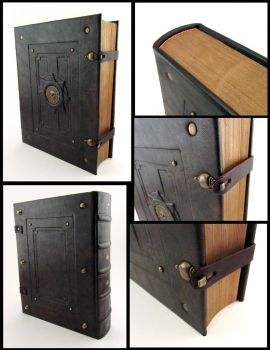 Pirate Leather Book by MilleCuirs
