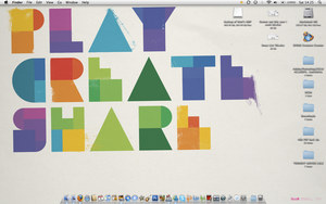 Play Create Share MBP desktop by MattZani