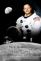 Neil Armstrong Tribute by foreverCTY
