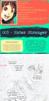 Artist's Log 003: Enter Stranger by MagpieFreak