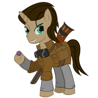 Chatter Fallout Equestria by RarityKaiba