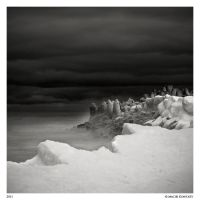 Seashore at winter 2 by Maciej-Koniuszy