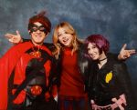 Me with Chloe Grace Moretz aka HIT GIRL by HeyLookASign