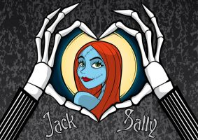 Jack Loves Sally by Satanisapunk