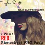 Taylor Swift Red Photoshoot PNG Pack by HafsaLoveMusic
