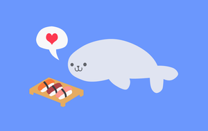 Cute Seal Design by Debra-Marie