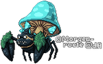 Mega Parasect Sprite by Tinuvion