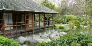 Japanese Garden 1 by Troxone