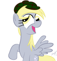 Derpy In A Hat by loomx
