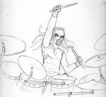 Pickles The Drummer by SenchouMetal