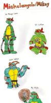 Turtle Gens: Michelangelo by KessieLou