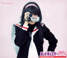 Tomoyo Daidouji Cosplay - Videotaping by SailorMappy