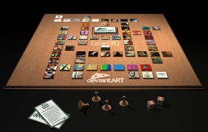 3D Board Game Concept by jbrentf
