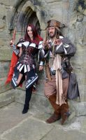Captain Jack and Fem Assassin (3) by masimage