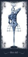 Blue Doll by Bloodredsangre