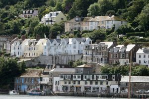 Houses in Looe Cornwall by loveroar