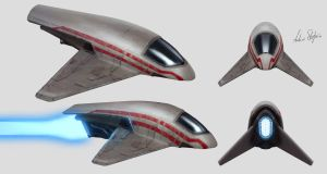 Spaceship Concept by AndrieriStefano