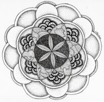 Flower of Life by PencilsAndInk