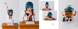 Miki Sayaka 8 - Bad student by simakai