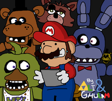 Mario Plays: Five Nights at Freddy's by GhulamJamil