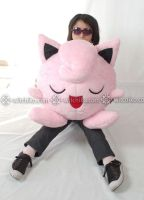 Jigglypuff::::size by Witchiko