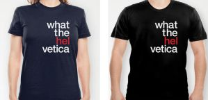 Hel vetica Tee by no-preview
