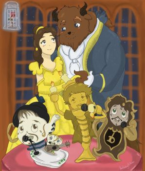 One Direction's Beauty and the Beast by OneDirectionFanJohn