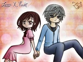 Smile! ~ Zero X Yuuki - Vampire Knight by X-Spread-Wings-X