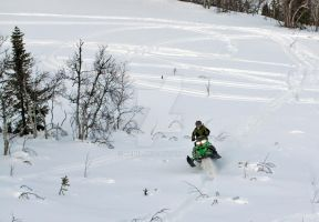 Martin with sled 7 by denil