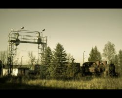 Railside Playground by Beezqp