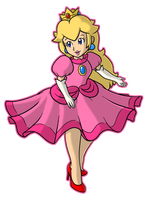 Princess Peach by CatchShiro