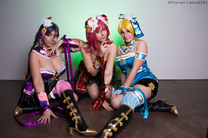 Cheongsam Love Live! group by dani-foca