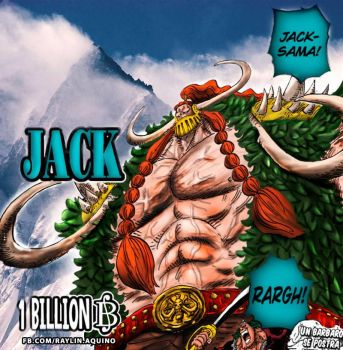 Jack The Drought - One Piece manga capitulo 810 by raylinanthony
