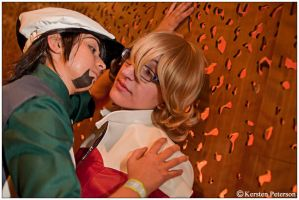 T+B: Going For the Kiss by CosplayerWithCamera