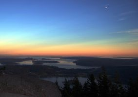 Clearlake off of Mt Erie by ShannonCPhotography