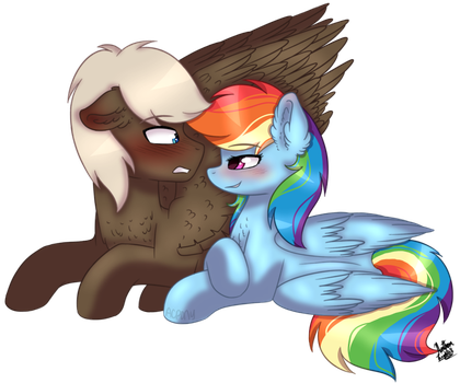 Collab: Flustered by ArtistCoolPony