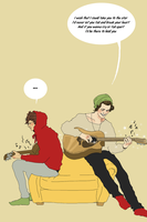 Larry guitar by Itskaraoke
