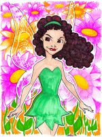 to look like TinkerBell by misfitcorner