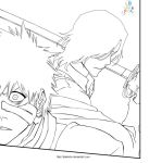 Bleach lineart 457 by hakimbo