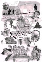 Raiders of the Lost Ark (newly scanned version) by Quadcabbage