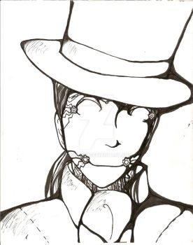 Antoine and his tophat by scirius14