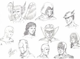 Justice Society by jimg1972