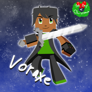 3rd Day of Christmas! Voraxe by Skyelre