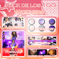 PACK DE LOS 1OO WATCHERS by Gatita-Edicion-12