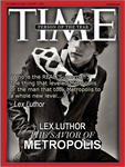 Lex Luthor - TIME Person of the Year Cover by RedHood2913
