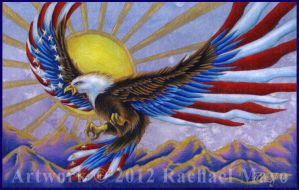 Patriot's Flight 4 by rachaelm5