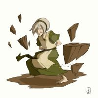 Toph Bei Fong by FaustindeRavignan