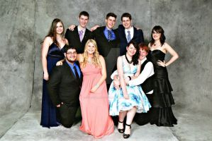 Year 12 Formal Group Photo by Shadowland53